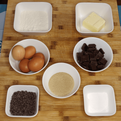 Ingredients Recette Marbre Chocolat