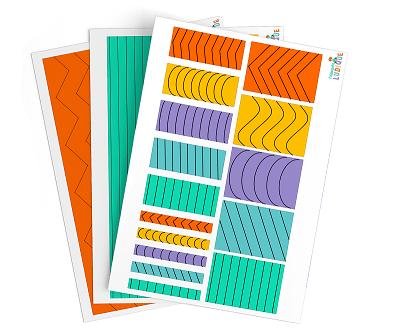 Pack Apprendre Decouper Montessori 1