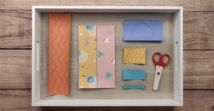 Plateau Montessori Apprendre Decouper