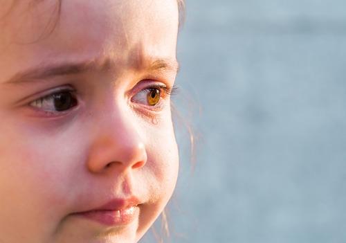Enfant Triste Pleurs