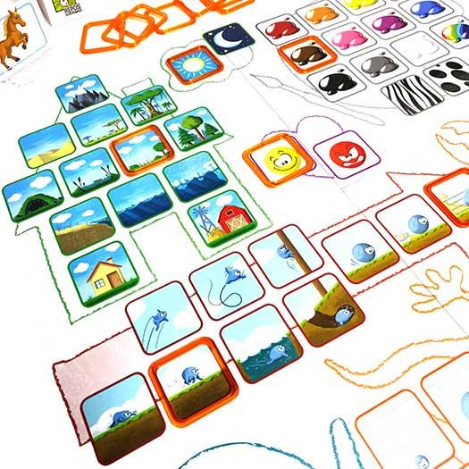 Concept kids animaux - Plateau de jeu