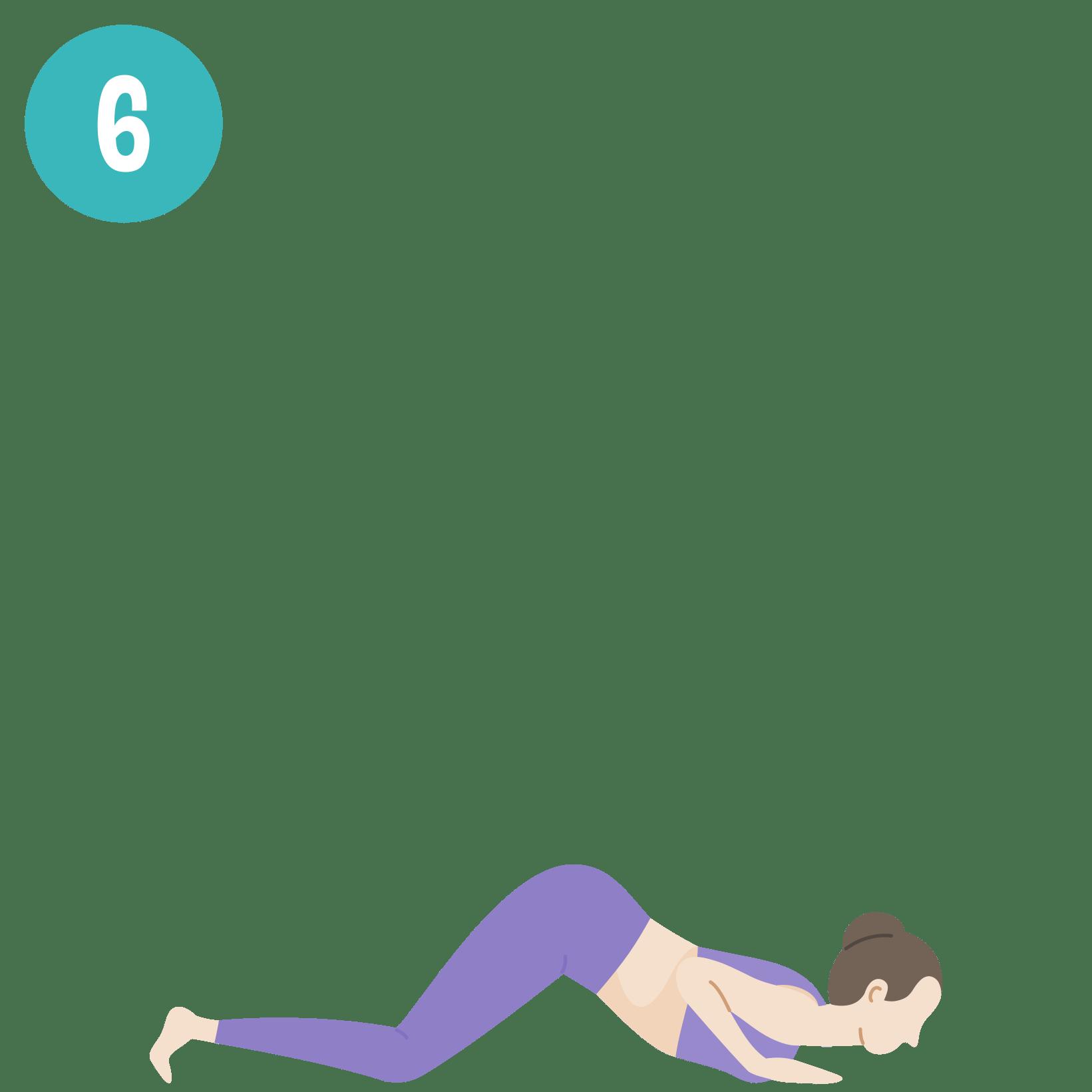 Yoga - Salutation au soleil - posture 6