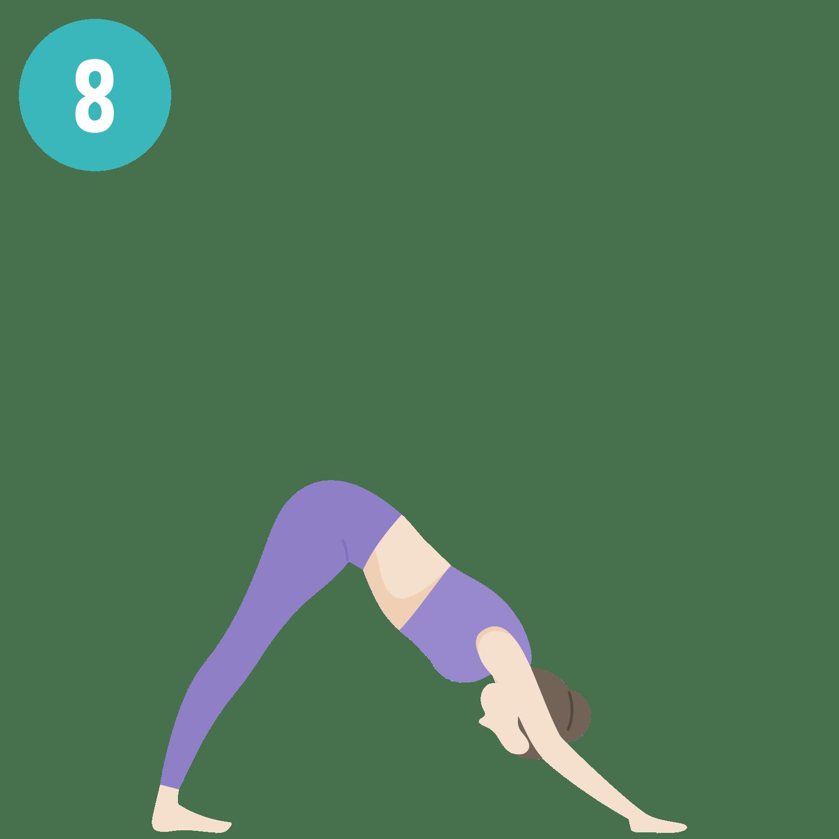yoga salutation au soleil posture8
