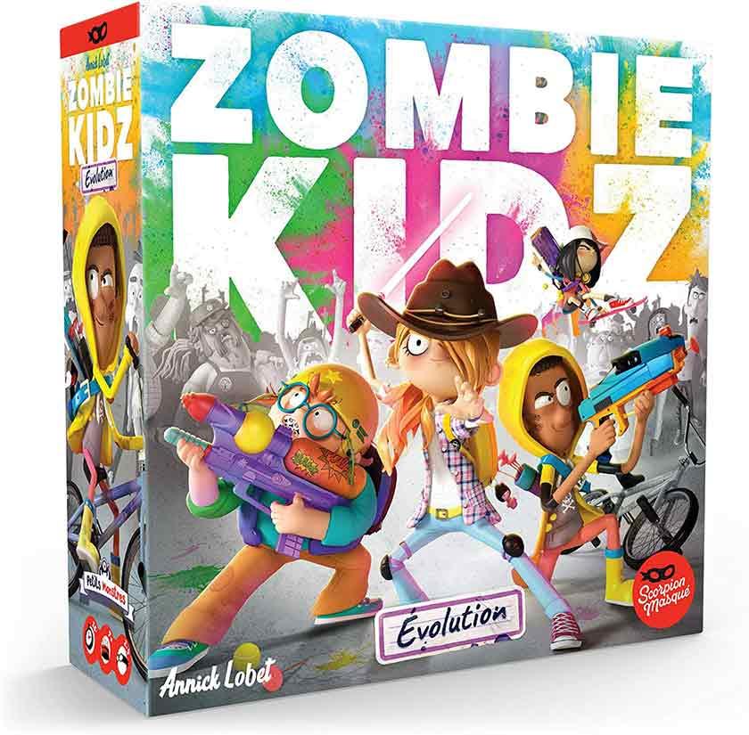 Zombie Kidz - Boite de jeu