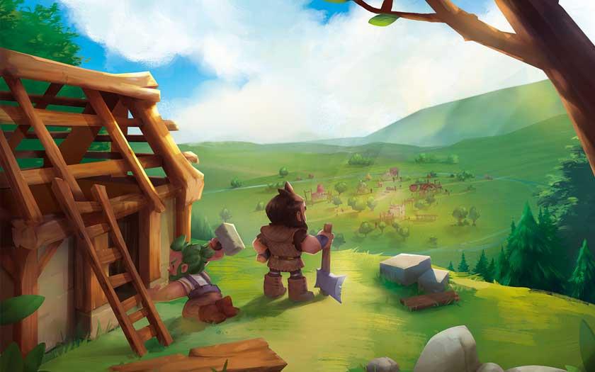 Little Town - Illustration