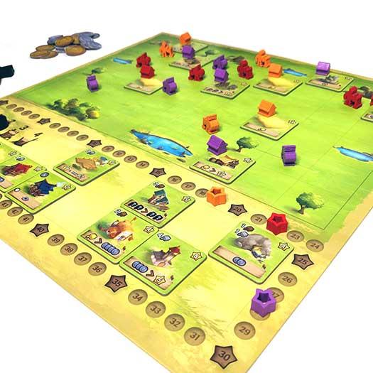 Little Town - Plateau de jeu
