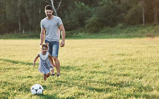 activite jeux exterieur enfant football