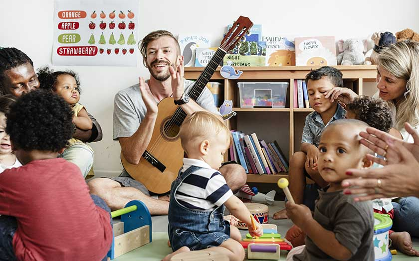 atelier eveil musical bebes