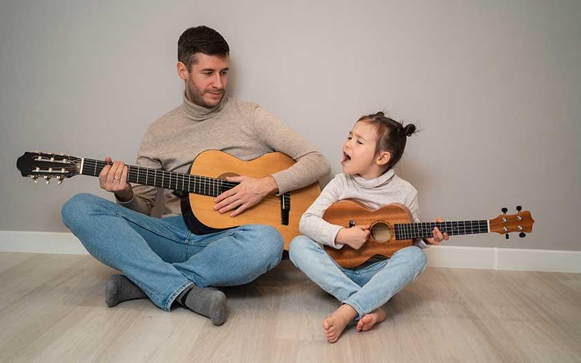 parent enfant eveil musical chant